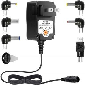 Multi Voltage Switching Replacement PowerAC Adapte